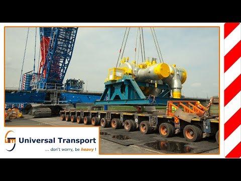 Universal Transport - 18 axles, 137 tons, 2 nights ...