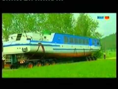 Universal Transport - Transport of the ship MS Saalburg MDR-TV