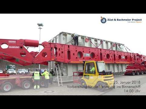 Züst&Bachmeier - 530to. SIEMENS-Transformer